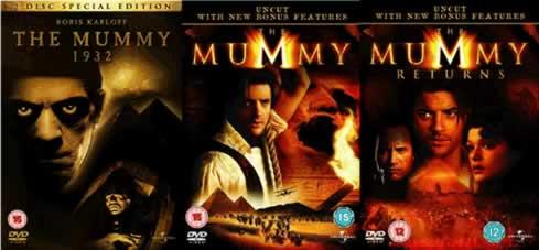 The Mummy 1932 The Mummy 1999 The Mummy Returns